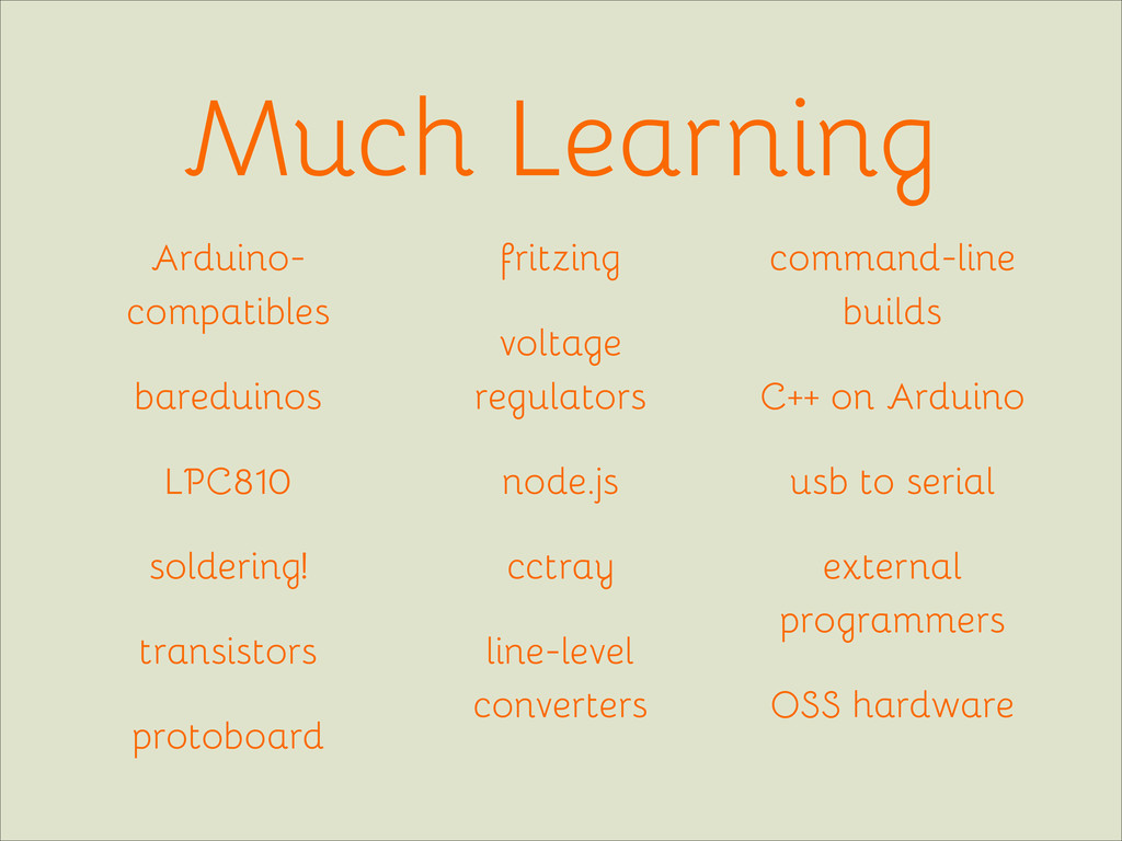 Much Learning Arduino- compatibles bareduinos L...