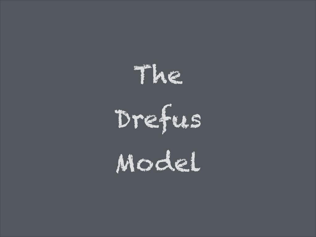 The Drefus Model