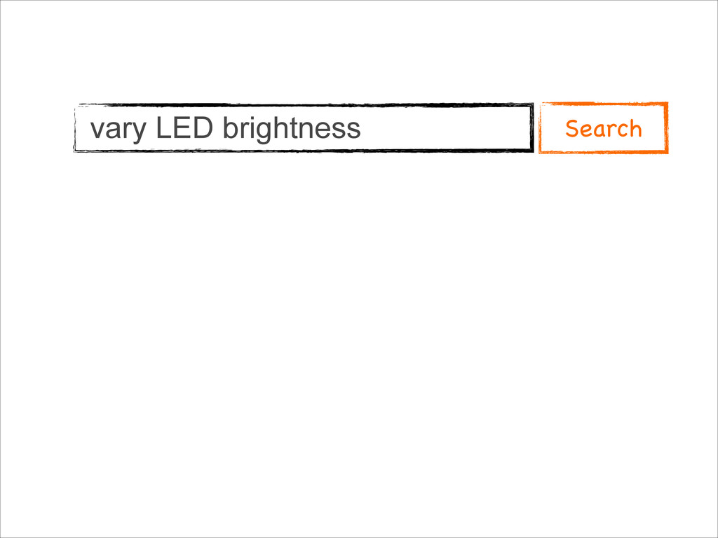 vary LED brightness Search