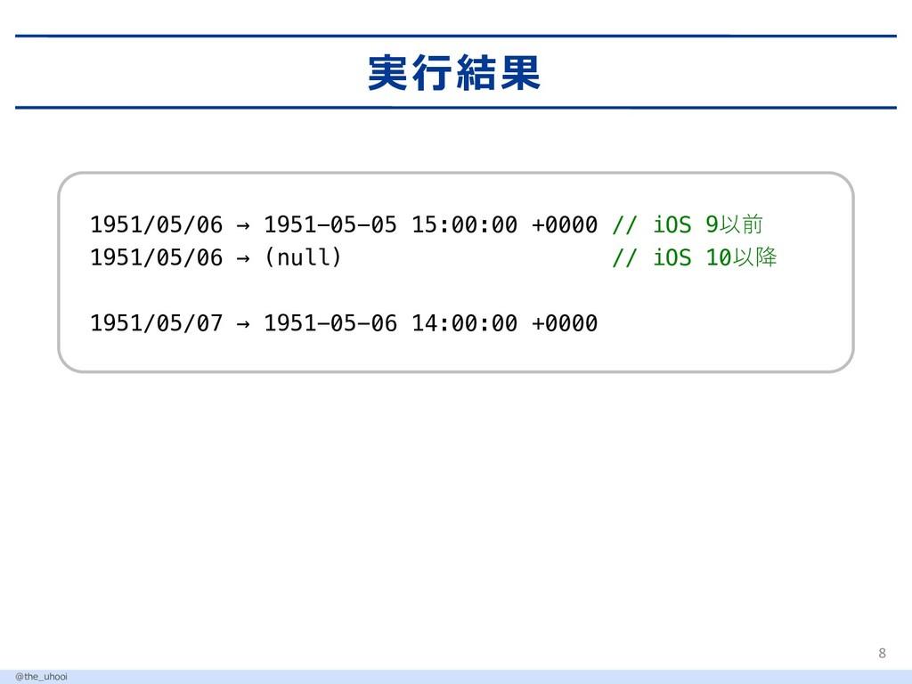 1951/05/06 → 1951-05-05 15:00:00 +0000 // iOS 9...
