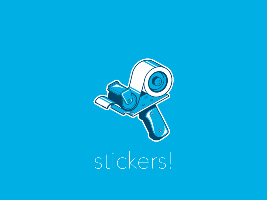 stickers!