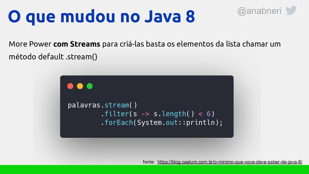O que mudou no Java 8 More Power com Streams pa...