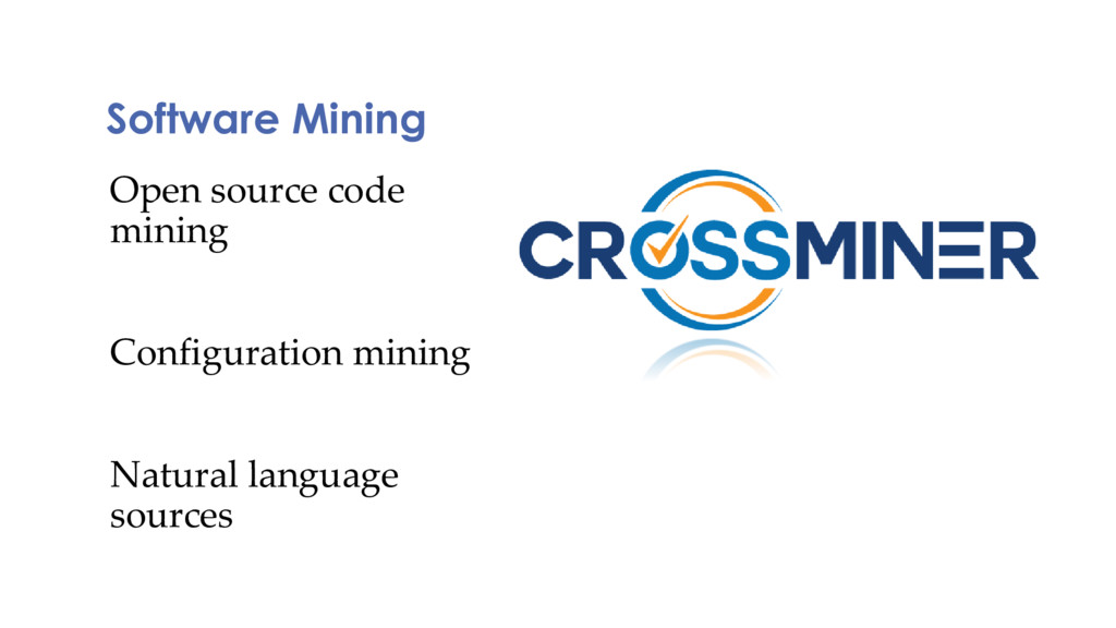 Software Mining Open source code mining Configu...