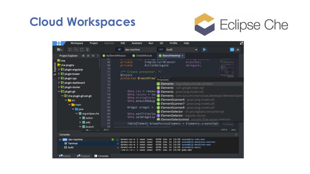 Cloud Workspaces