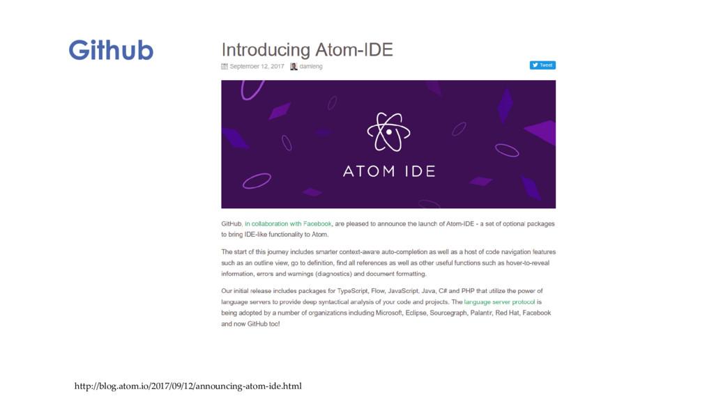 Github http://blog.atom.io/2017/09/12/announcin...