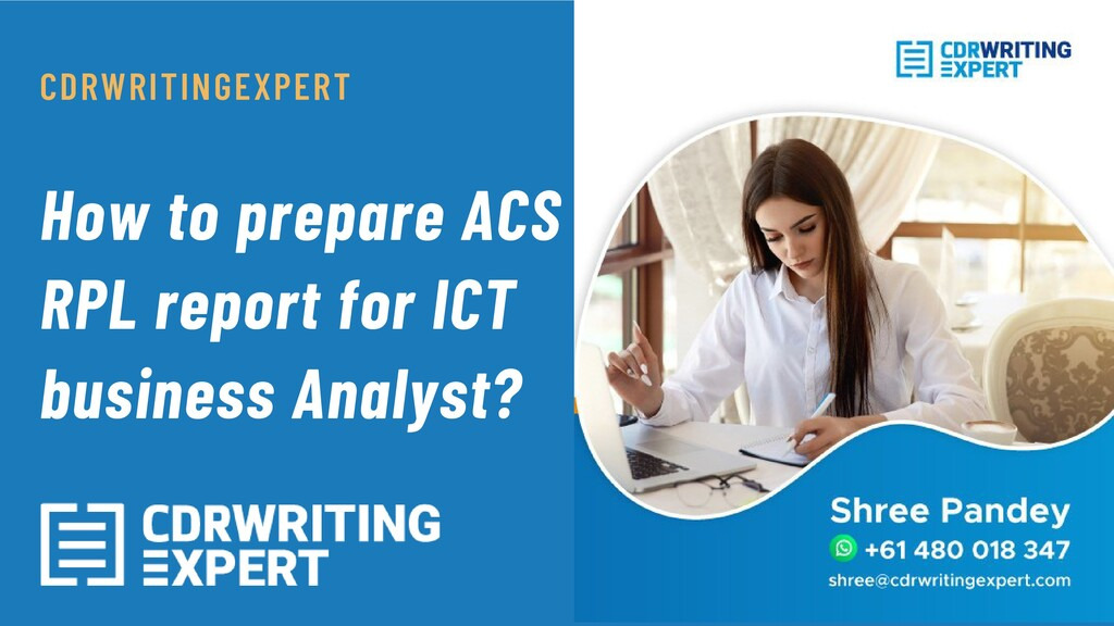 How to prepare ACS RPL report for ICT business ...
