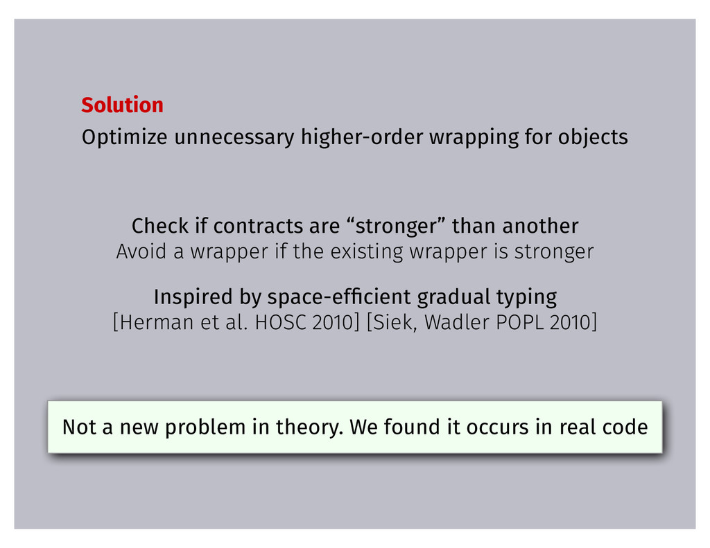 Solution Optimize unnecessary higher-order wrap...