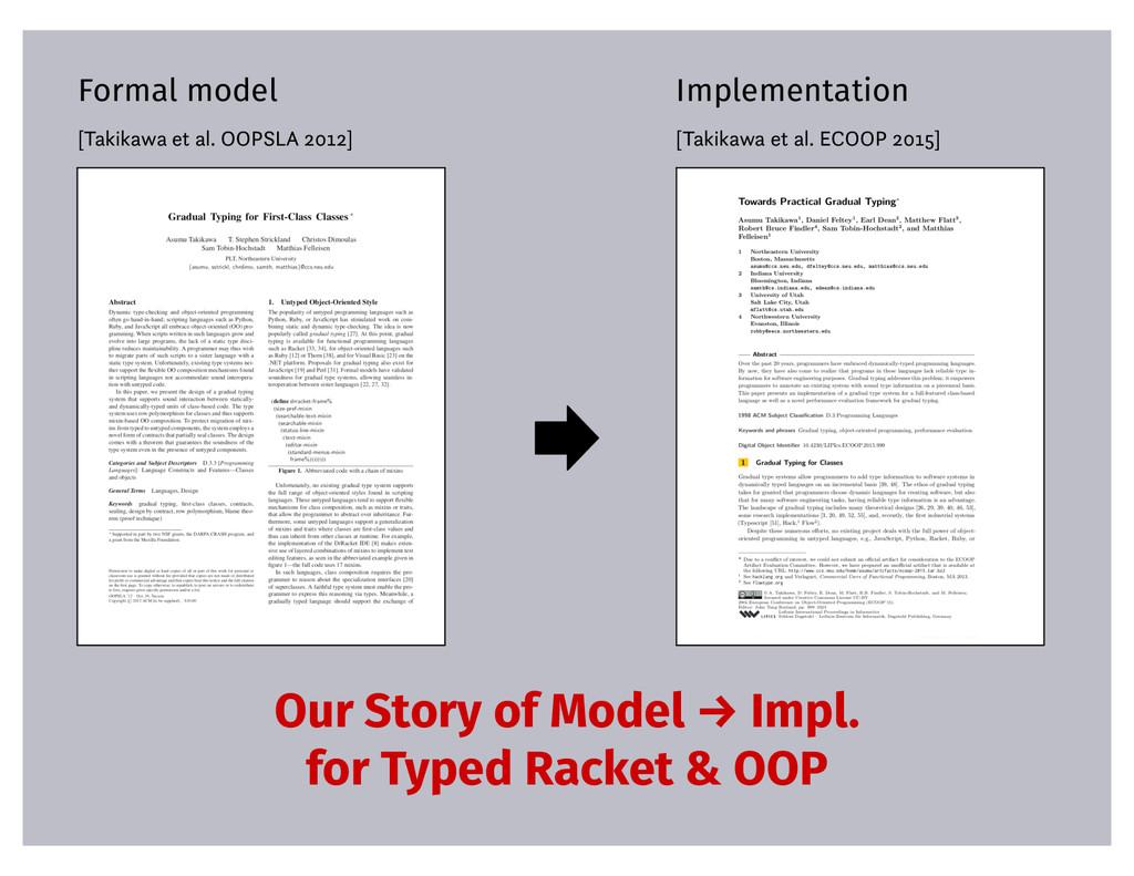 Formal model [Takikawa et al. OOPSLA 2012] Impl...