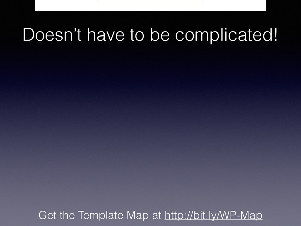 Get the Template Map at http://bit.ly/WP-Map Do...