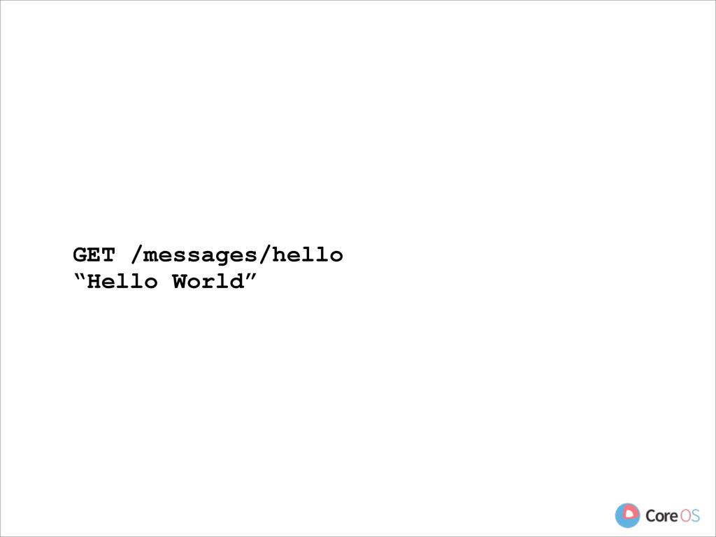 "GET /messages/hello ""Hello World"""