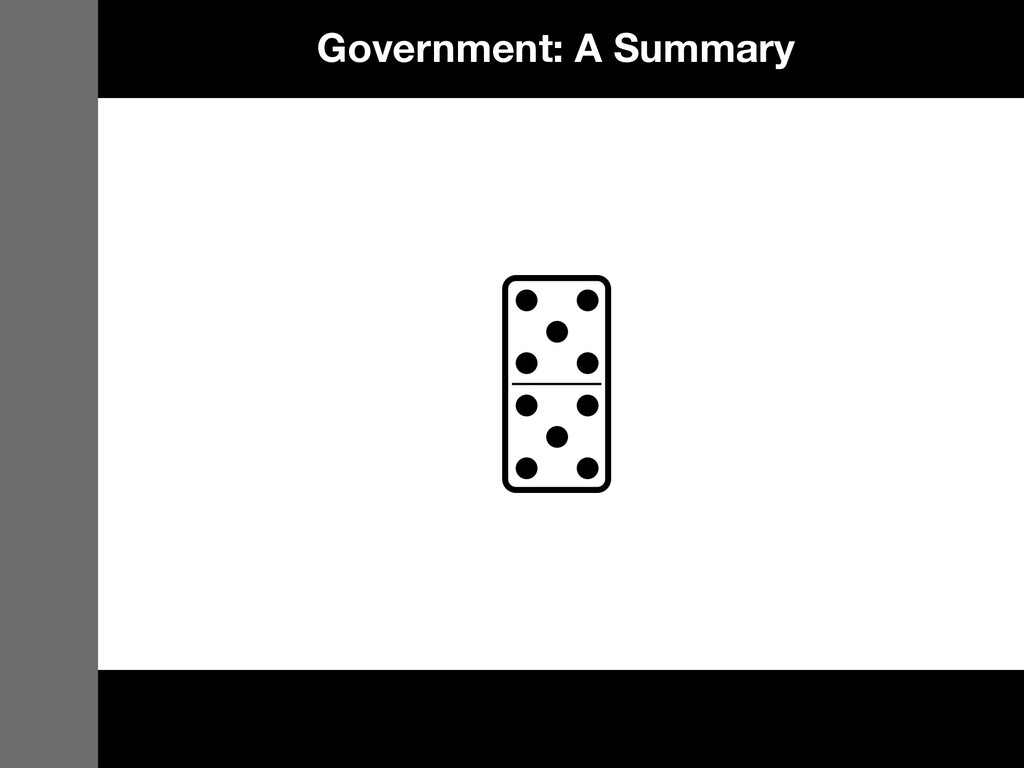 Government: A Summary
