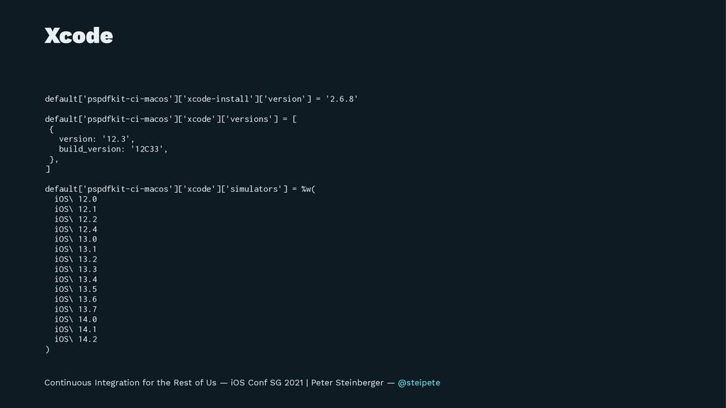 Xcode default['pspdfkit-ci-macos']['xcode-insta...
