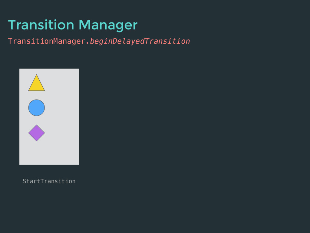 TransitionManager.beginDelayedTransition StartT...