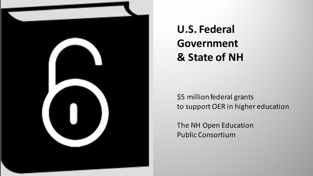 U.S. Federal Government & State of NH $5 millio...