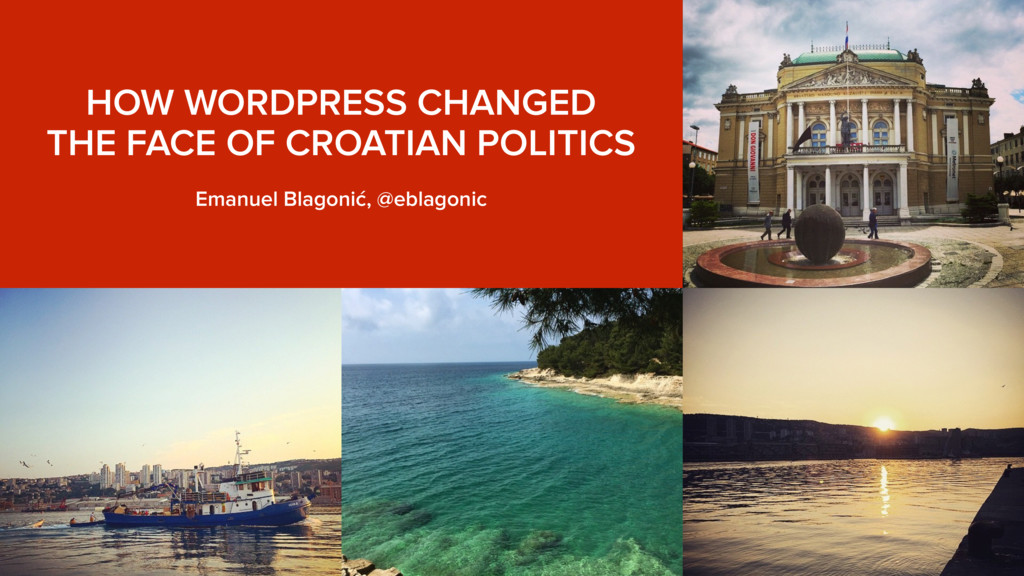 HOW WORDPRESS CHANGED THE FACE OF CROATIAN POL...