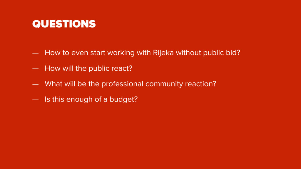 QUESTIONS — How to even start working with Rije...