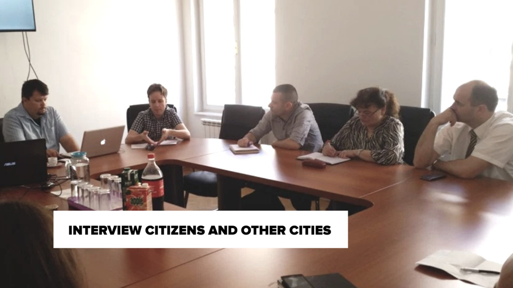 INTERVIEW CITIZENS AND OTHER CITIES