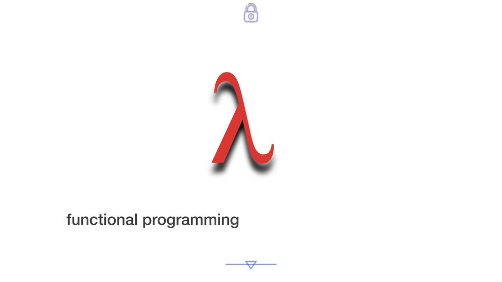 functional programming λ