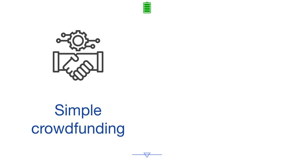 Simple crowdfunding