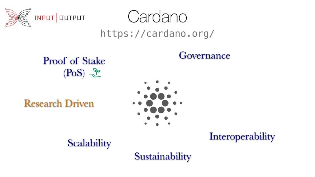 Cardano Proof of Stake (PoS) Scalability Intero...