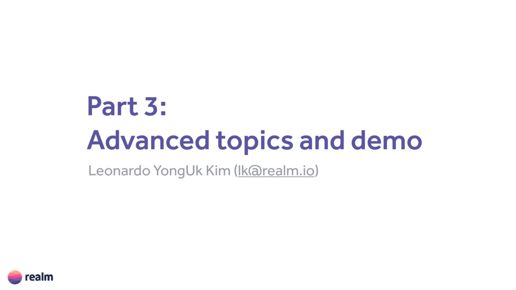 Part 3:
