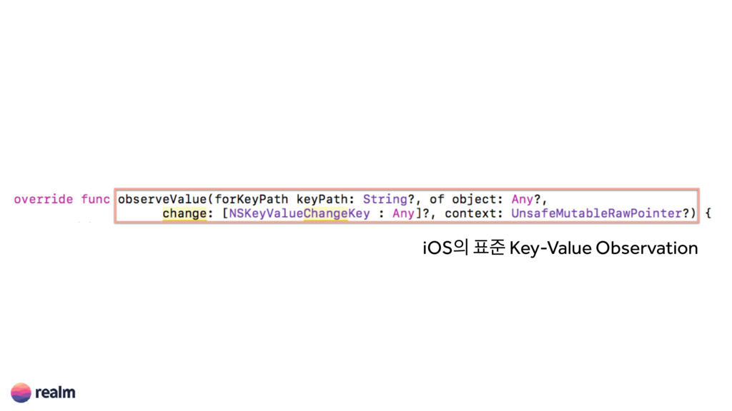 iOS੄ ಴ળ Key-Value Observation
