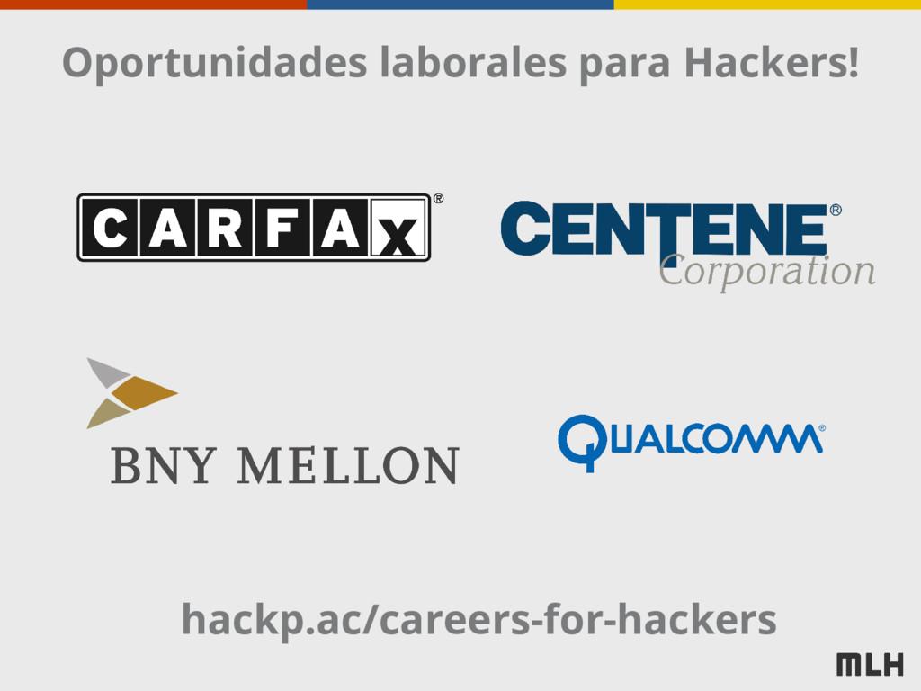 Oportunidades laborales para Hackers! hackp.ac/...