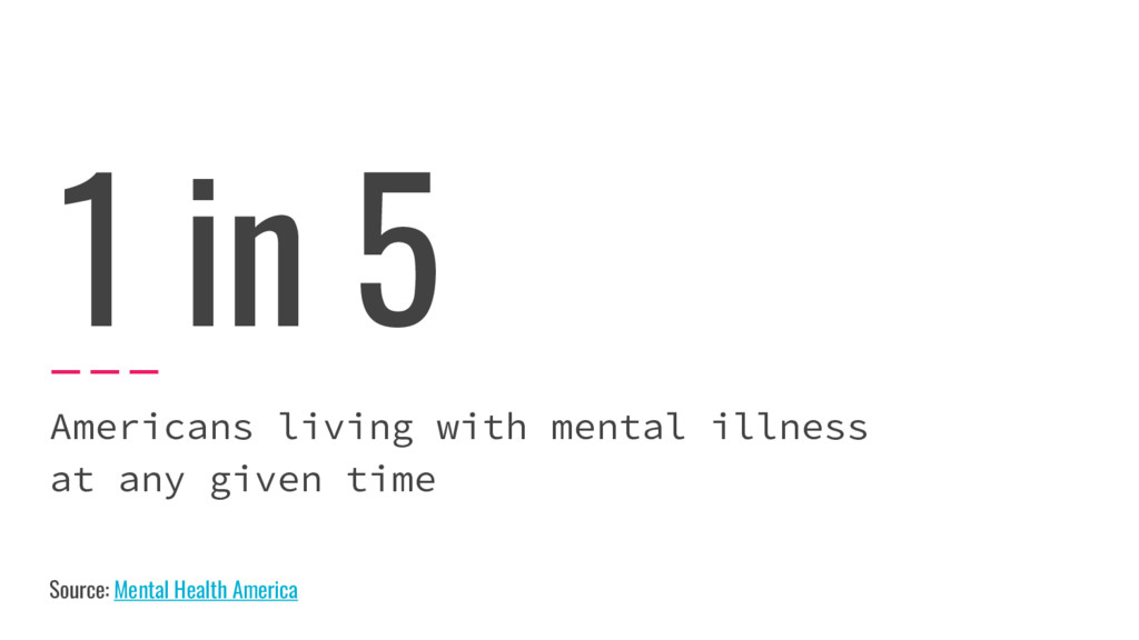 1 in 5 Americans living with mental illness at ...