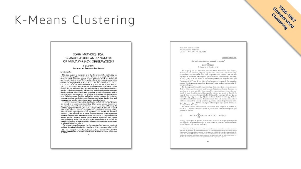 K-Means Clustering SOME METHODS FOR CLASSIFICAT...
