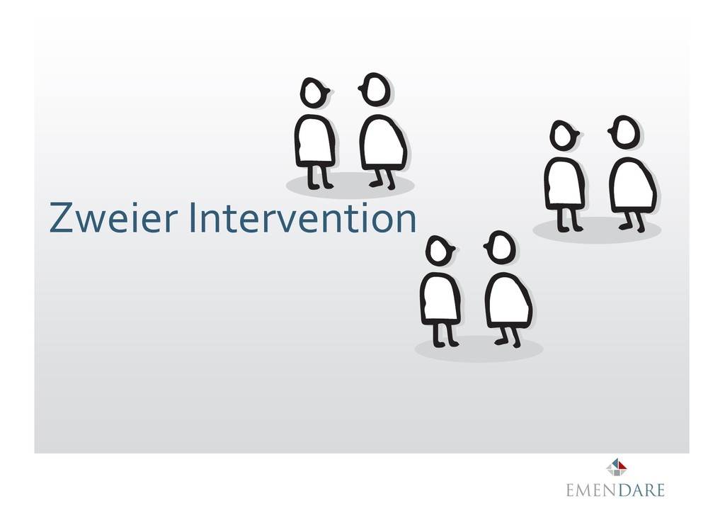 Zweier Intervention