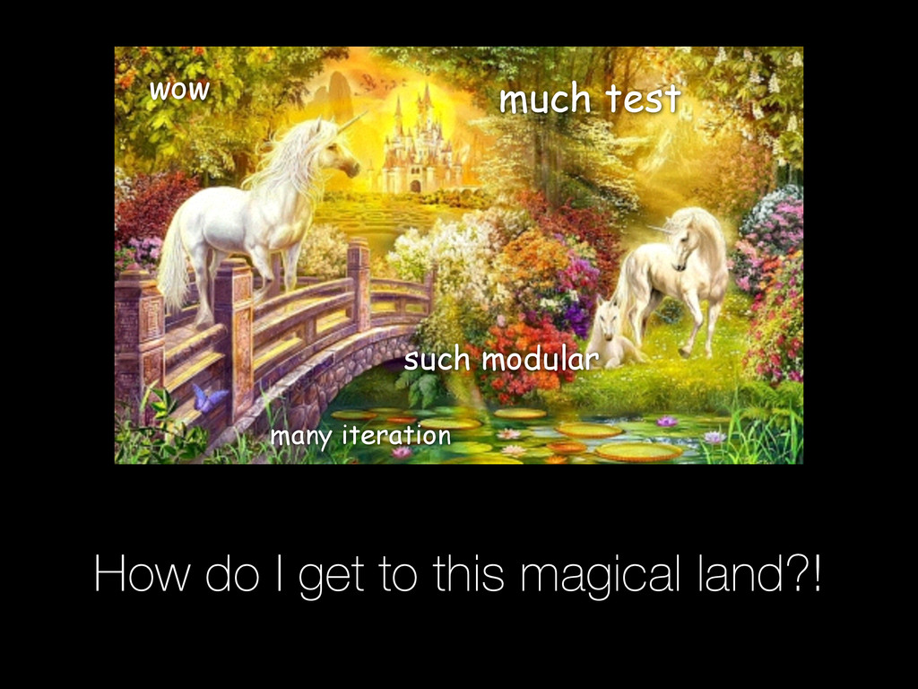 How do I get to this magical land?! wow such mo...