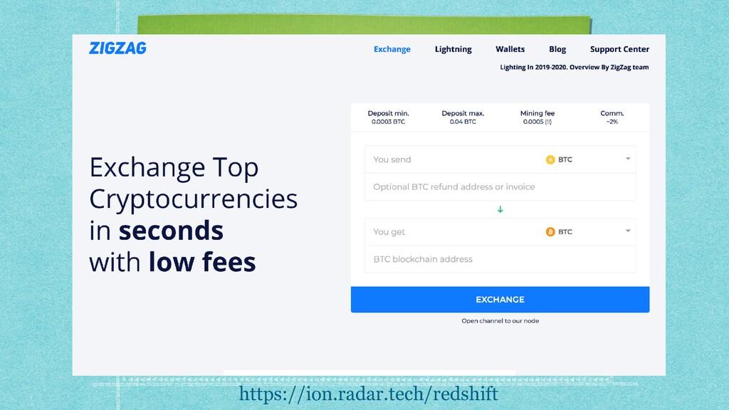 https://ion.radar.tech/redshift