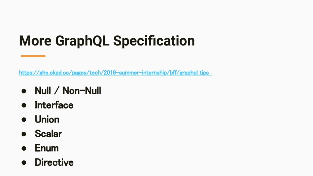 More GraphQL Specification https://ghe.ckpd.co/p...