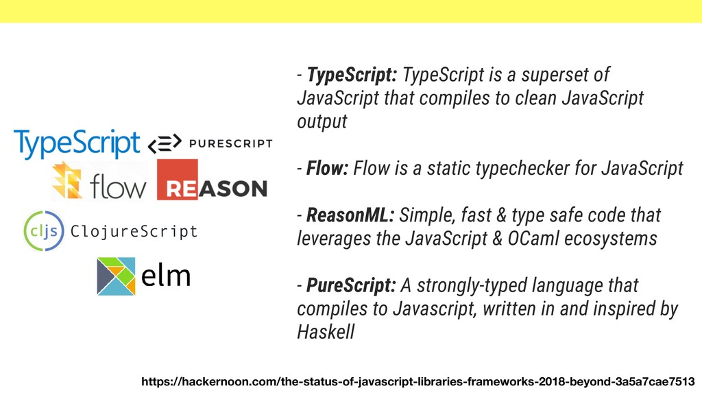 - TypeScript: TypeScript is a superset of JavaS...