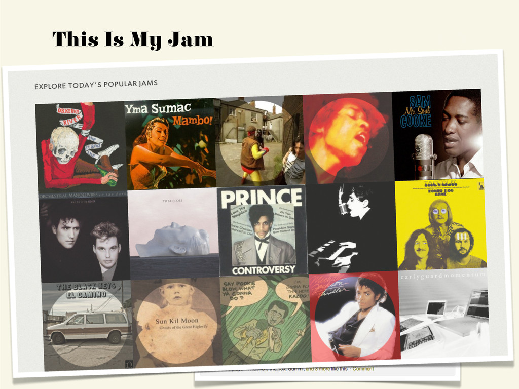 This Is My Jam 1 2
