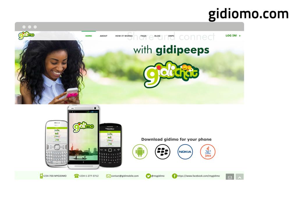 gidiomo.com