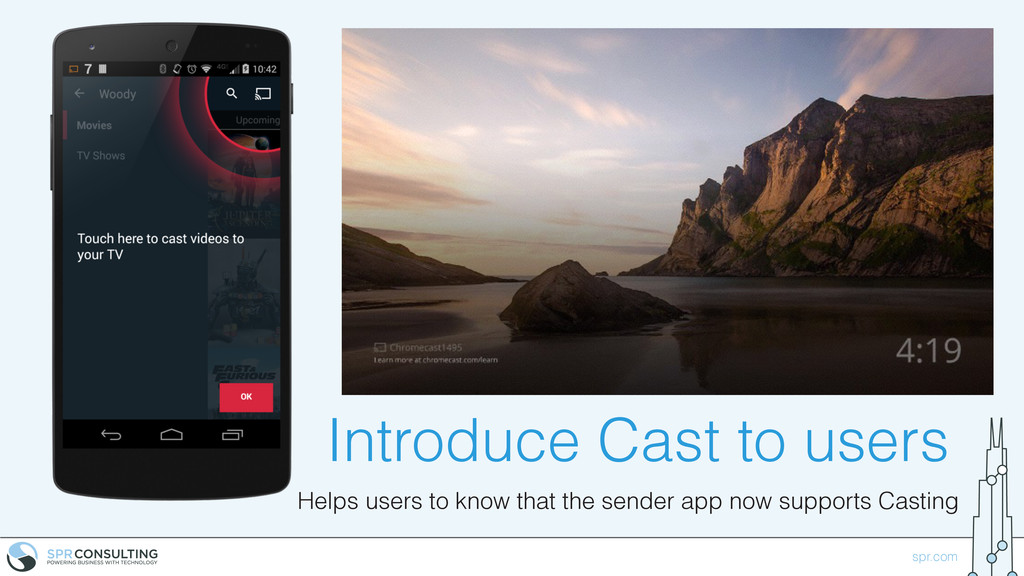 spr.com Introduce Cast to users Helps users to ...