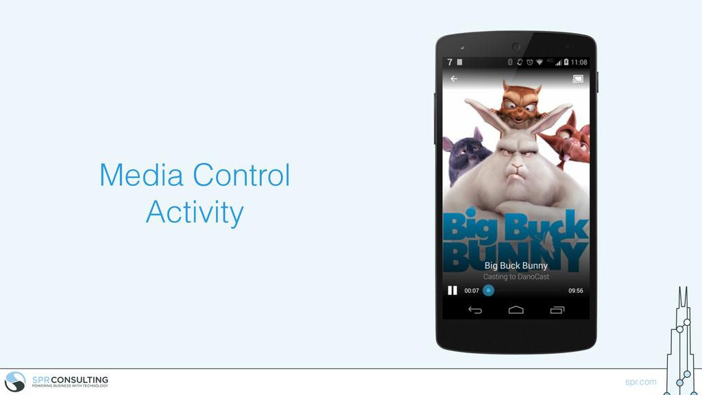 spr.com Media Control Activity