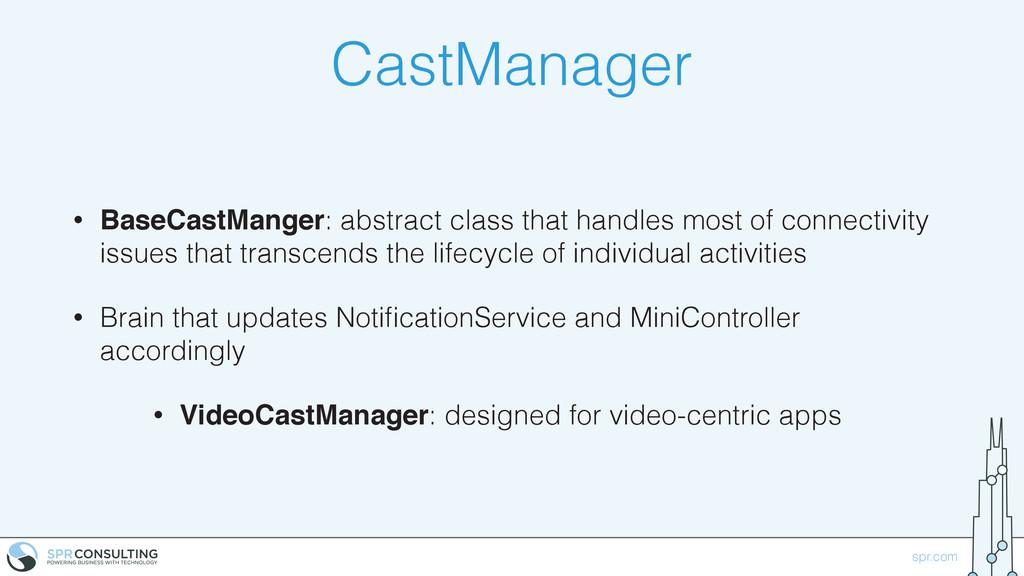 spr.com CastManager • BaseCastManger: abstract ...