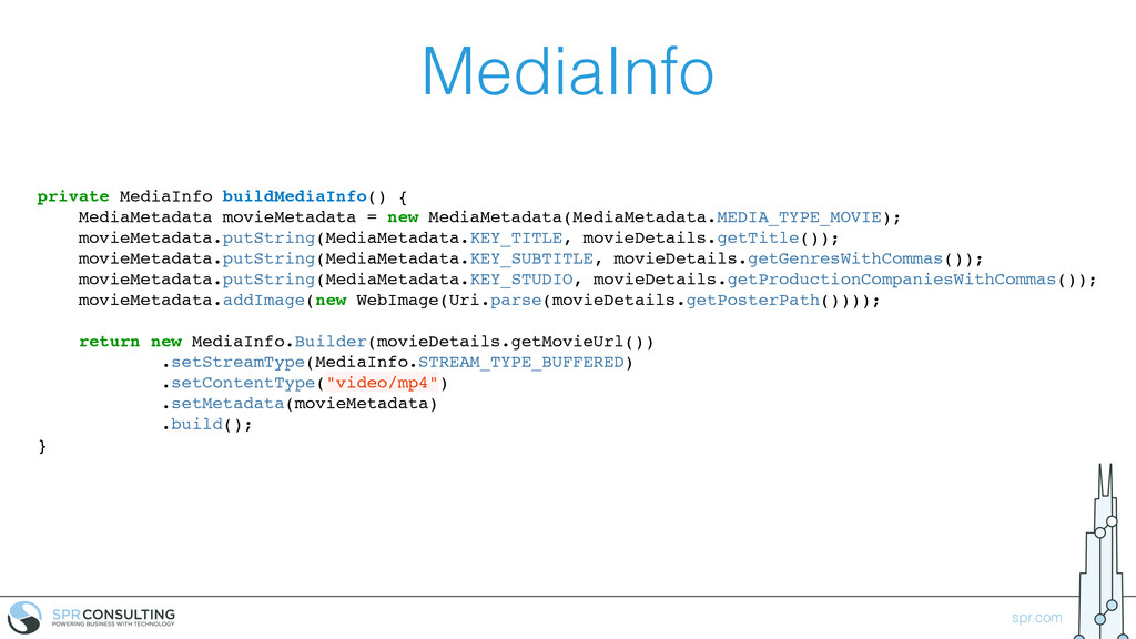 spr.com MediaInfo private MediaInfo buildMediaI...