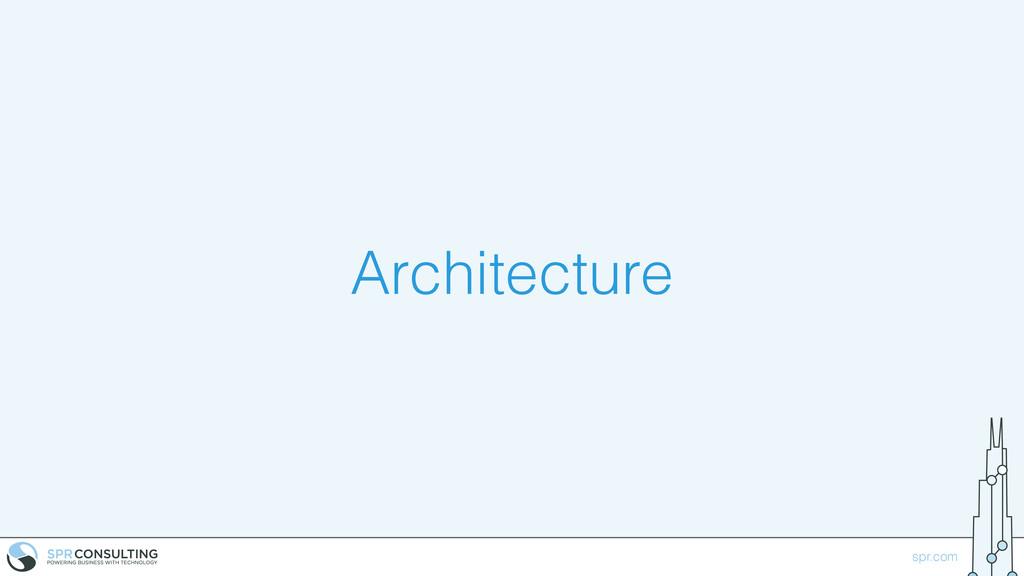 spr.com Architecture