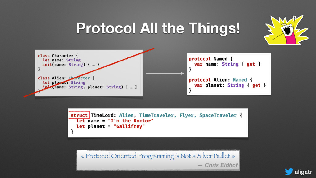 aligatr Protocol All the Things! struct TimeLor...