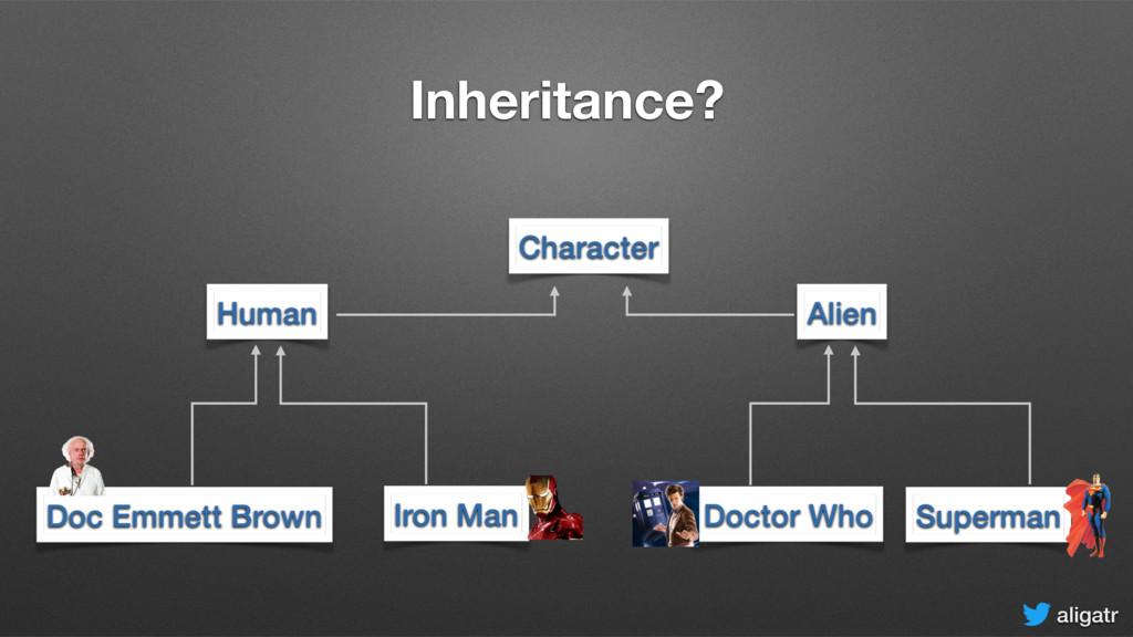 aligatr Inheritance? Doc Emmett Brown Doctor Wh...