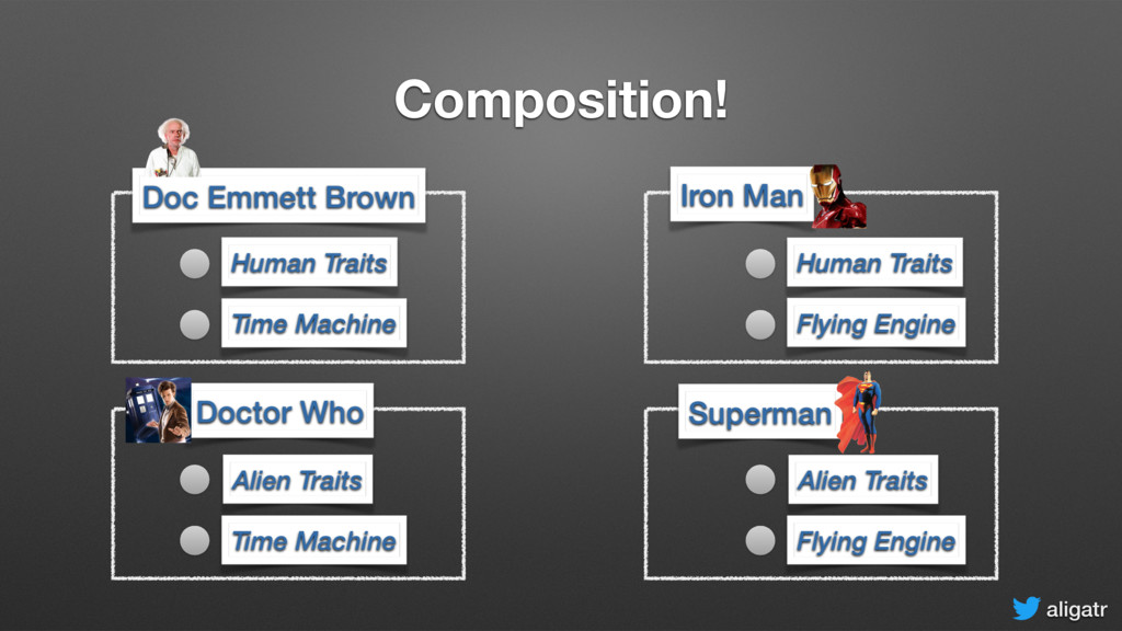 aligatr Composition! Doc Emmett Brown Doctor Wh...