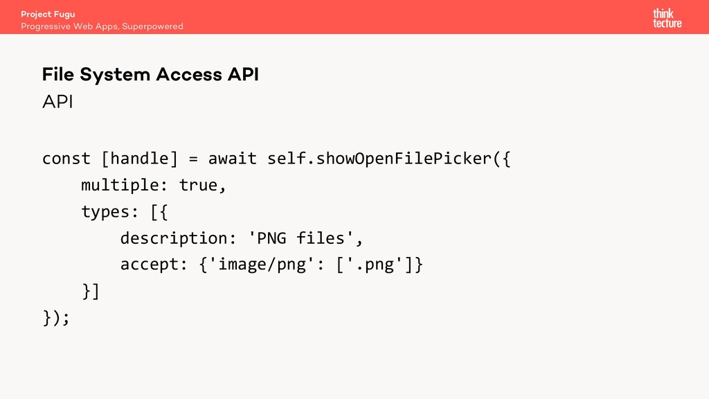 API const [handle] = await self.showOpenFilePic...