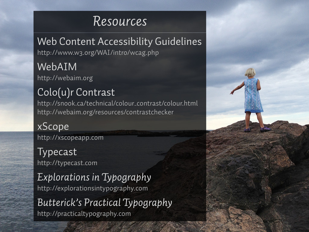 Resources Web Content Accessibility Guidelines ...