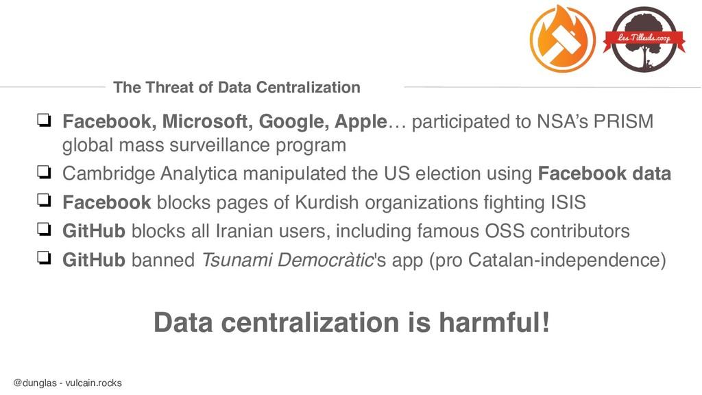 @dunglas - vulcain.rocks The Threat of Data Cen...