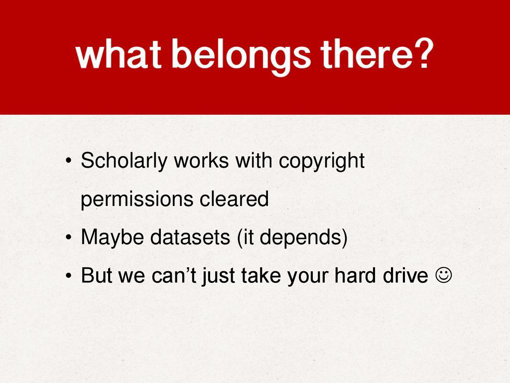 • Scholarly works with copyright permissions cl...