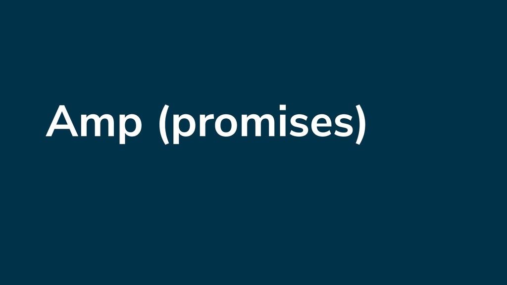 Amp (promises)