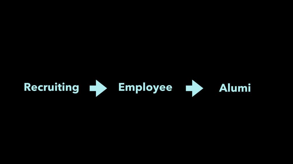 Recruiting Employee Alumi